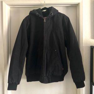 Levi's Canvas hoodie bomber jacket